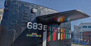 Szturmowa łódź podwodna USS Parche, Bremerton, Waszyngton Zdjęcia Stock