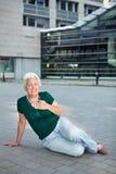 szturmowa kierowa starsza kobieta Obrazy Royalty Free