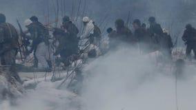 Szturmowy pole bitwa zdjęcie wideo
