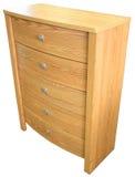 szuflady dębowi klatki piersiowej Fotografia Stock
