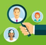 Szukać lekarkę Obrazy Stock