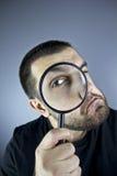 Szukać mężczyzna Fotografia Royalty Free