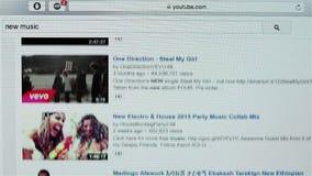 Szukać nową muzykę na YouTube zdjęcie wideo