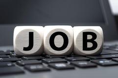Szukać nowego Akcydensowego oferta pracy obraz royalty free