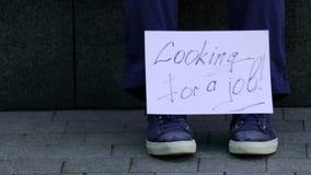 Szukać praca znaka zbiory