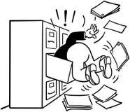 Szukać segregowanie gabineta ilustracji