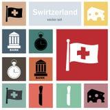 Szwajcaria royalty ilustracja