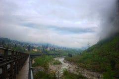 Szwajcaria Alp rzeka obrazy stock