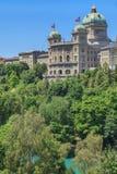 Szwajcaria federacyjny Pałac zdjęcie stock