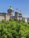 Szwajcaria federacyjny Pałac zdjęcia royalty free