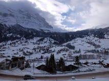 Szwajcaria góry strona Obrazy Stock