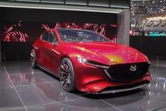 Szwajcaria; Genewa; Marzec 8, 2018; Mazda KAI pojęcie, przód dla Obraz Stock