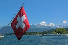 Szwajcaria jeziorny rejs Obrazy Stock