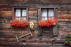 Szwajcarscy okno Zdjęcie Stock