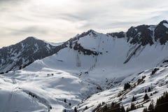 Szwajcarska ściana obraz royalty free