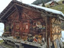 Szwajcarska beli kabina Zdjęcie Royalty Free