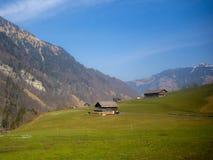 Szwajcarska wieś Fotografia Royalty Free