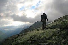 szwajcarski alpy wędrownej Zdjęcia Royalty Free