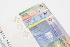 Szwajcarski frank obrazy royalty free