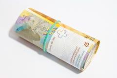 Szwajcarski frank Obrazy Stock