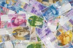 Szwajcarski frank fotografia stock