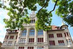 Szwajcarski historyczny budynek Obraz Stock