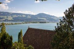 Szwajcarski jezioro obraz stock