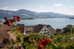 Szwajcarski jezioro zdjęcia stock