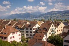 Szwajcarski jezioro obrazy stock