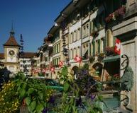 szwajcarski miasteczko Obrazy Stock
