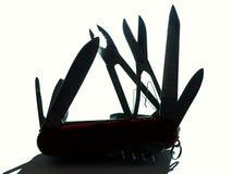 Szwajcarski nóż Obrazy Royalty Free