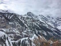 Szwajcarski widok górski Fotografia Stock
