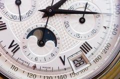 szwajcarski zegarek się bliżej Obrazy Stock