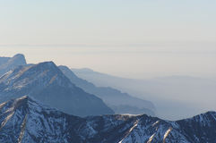 szwajcarskie alpy zdjęcie stock