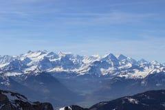 szwajcarskie alpy Fotografia Royalty Free