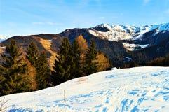 szwajcarskie alpy Zdjęcia Royalty Free