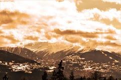 szwajcarskie alpy Zdjęcia Stock
