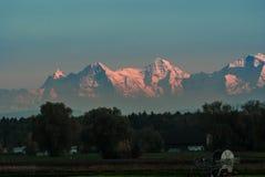 Szwajcarskie góry Zdjęcia Royalty Free