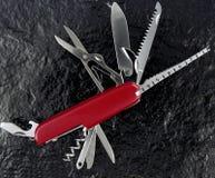 szwajcarskie noże Zdjęcia Royalty Free