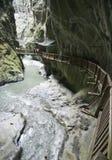 szwajcarskie wąwozy Zdjęcia Stock
