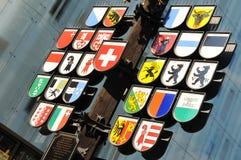 Szwajcary one Absztyfikują, Londyn Obrazy Stock