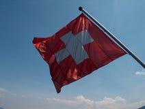 szwajcarzy bandery Obrazy Royalty Free