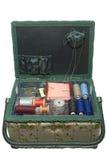 Szwalny pudełko Zdjęcia Stock