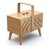 Szwalny pudełko Fotografia Stock