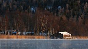 Szwecja jezioro Obrazy Stock