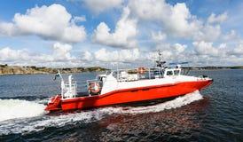 Szwedzka łódkowata karetka Zdjęcia Stock