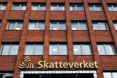 Szwedzka podatek agencja Zdjęcie Royalty Free