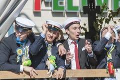 Szwedzka skalowanie parada Zdjęcie Royalty Free