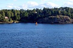 Szwedzka wyspa 3 Fotografia Royalty Free