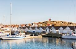 Szwedzka zachodnie wybrzeże wyspa Obrazy Stock